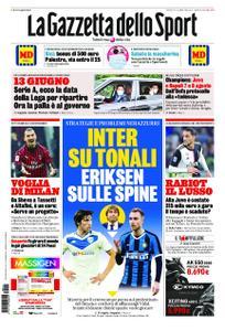 La Gazzetta dello Sport Bergamo – 14 maggio 2020