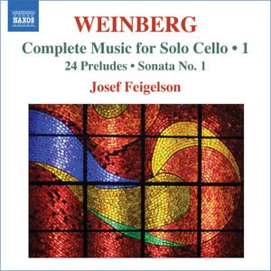 Josef Feigelson - Mieczyslaw Weinberg: Complete Music for Solo Cello 1 (2010)