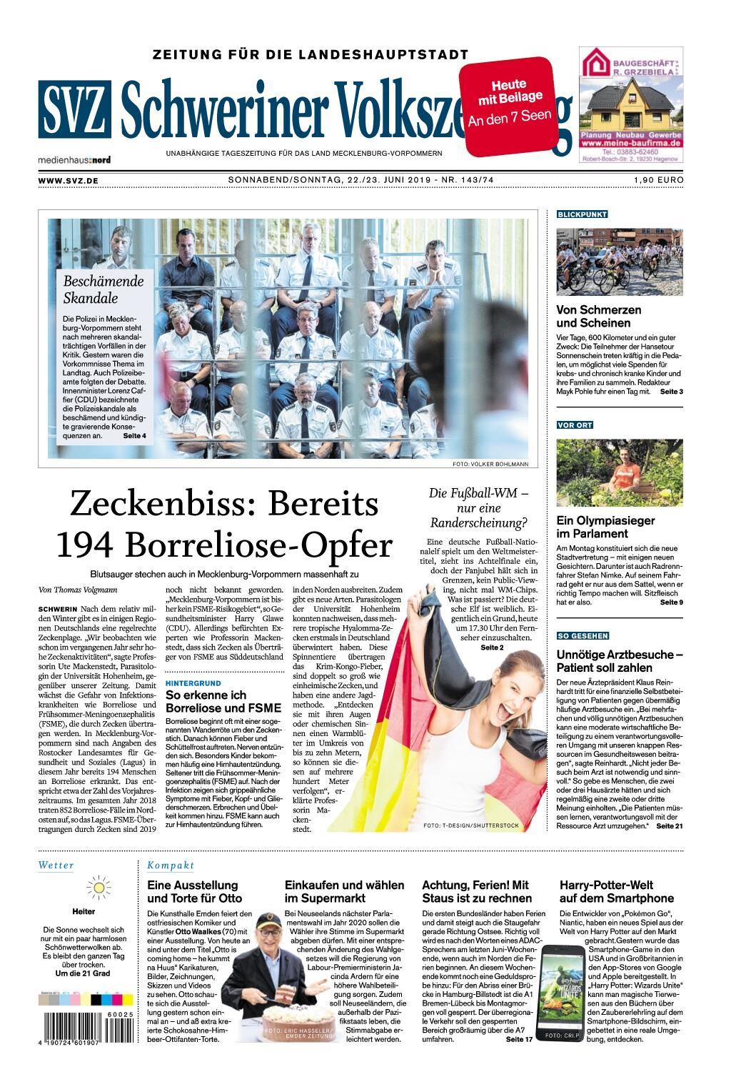 Schwerin Zeitung