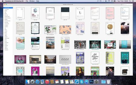 Templates for MS Word by Graphic Node v3.9.1 MacOSX