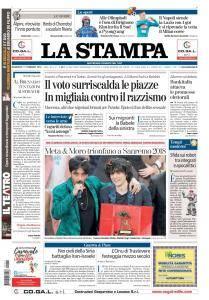 La Stampa Imperia e Sanremo - 11 Febbraio 2018