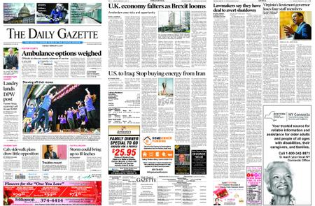 The Daily Gazette – February 12, 2019