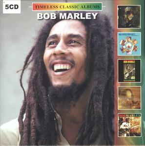 Bob Marley - Timeless Classic Albums (2019) {5CD Set Vinyl Replica CD Collection, Vinylogy DOLCD0465}