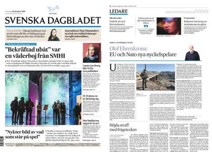 Svenska Dagbladet – 16 oktober 2019