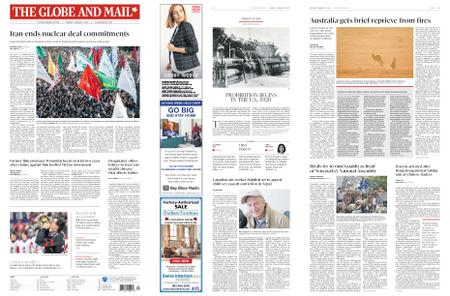 The Globe and Mail – January 06, 2020