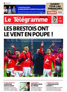 Le Télégramme Brest Abers Iroise – 26 janvier 2020