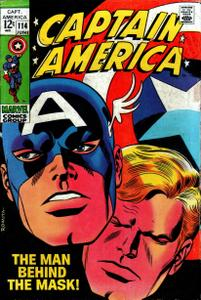 Captain America 114 HD Jun 1969