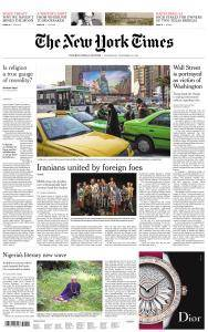 International New York Times - 29 November 2017