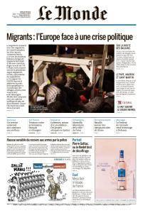 Le Monde du Jeudi 28 Juin 2018