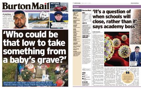 Burton Mail – March 13, 2020