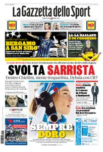 La Gazzetta dello Sport Roma – 19 febbraio 2020
