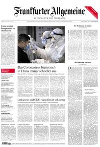 Frankfurter Allgemeine Zeitung F.A.Z. - 27. Januar 2020