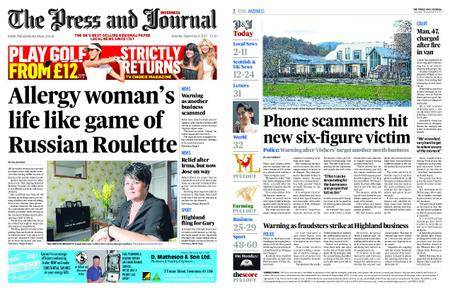 The Press and Journal Moray – September 09, 2017
