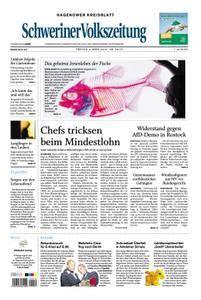 Schweriner Volkszeitung Hagenower Kreisblatt - 09. März 2018