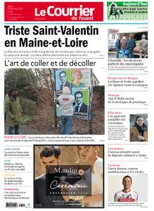 Le Courrier de l'Ouest Cholet – 20 février 2020