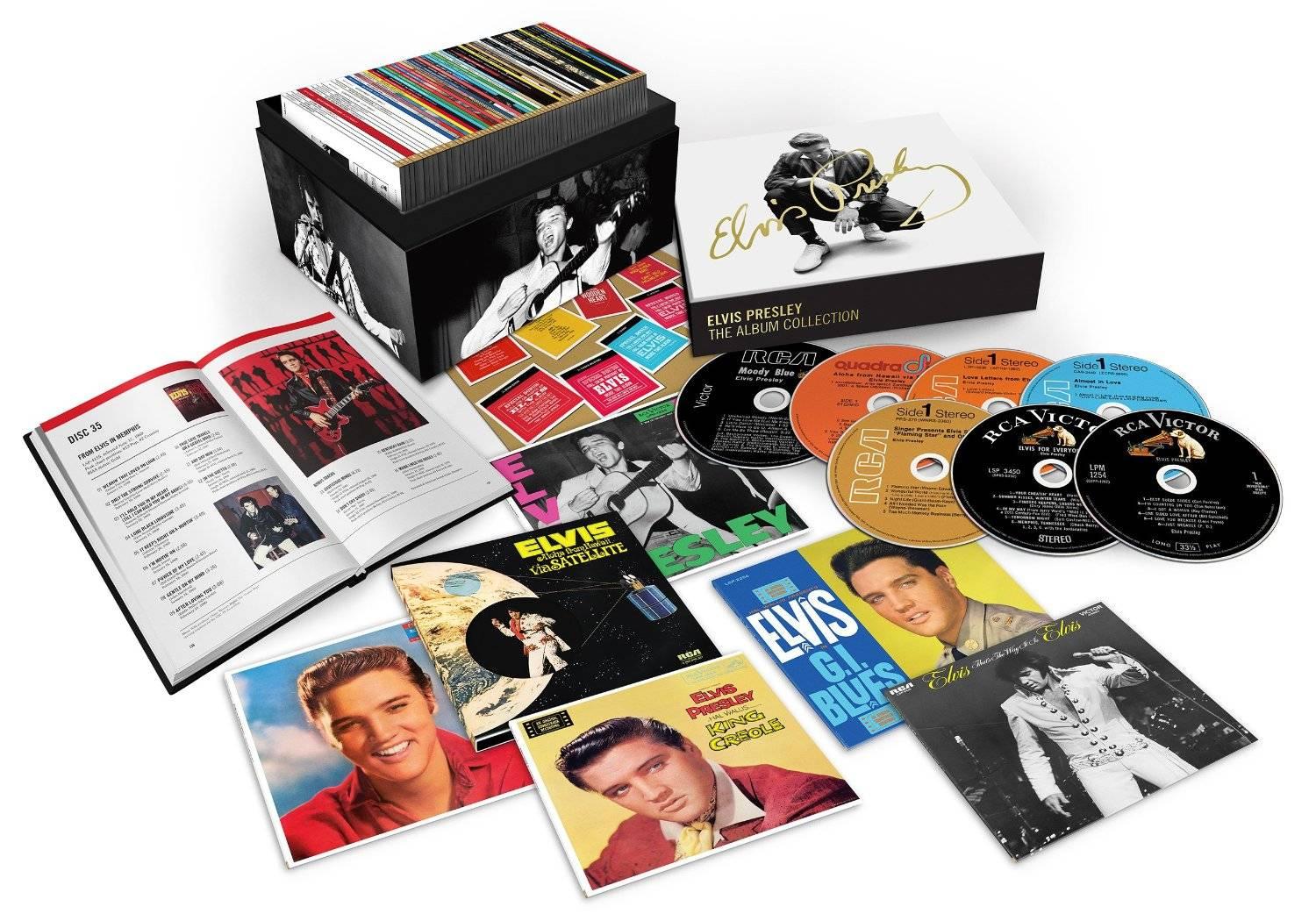 Elvis Presley - The RCA Albums Collection: Box Set 60CDs (2016) Re-up