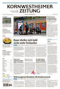 Kornwestheimer Zeitung - 12. September 2018