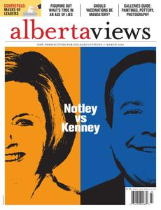 Alberta Views Magazine – March 2019