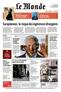 Le Monde du Samedi 16 Février 2019