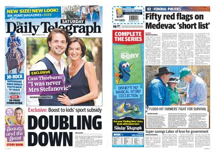 The Daily Telegraph (Sydney) – February 16, 2019