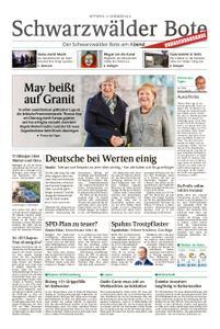 Schwarzwälder Bote Hechingen - 12. Dezember 2018