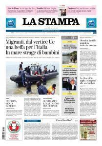 La Stampa Torino Provincia e Canavese - 30 Giugno 2018