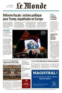 Le Monde du Jeudi 21 Décembre 2017