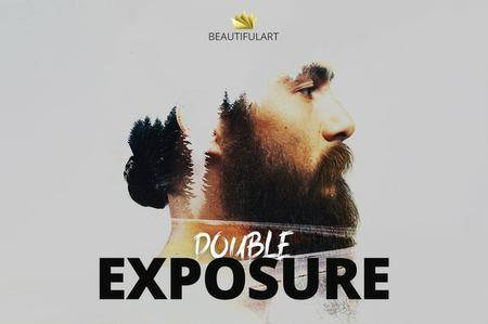 CreativeMarket - Pro DOUBLE EXPOSURE Action