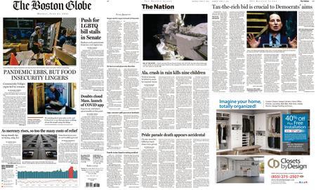 The Boston Globe – June 21, 2021