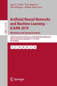 Artificial Neural Networks and Machine Learning – ICANN 2019: Workshop and Special Sessions