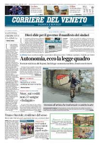 Corriere del Veneto Padova e Rovigo – 10 novembre 2019