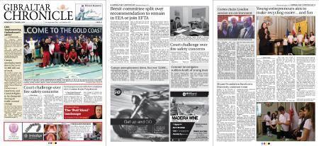 Gibraltar Chronicle – 04 April 2018