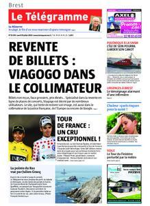 Le Télégramme Brest – 29 juillet 2019