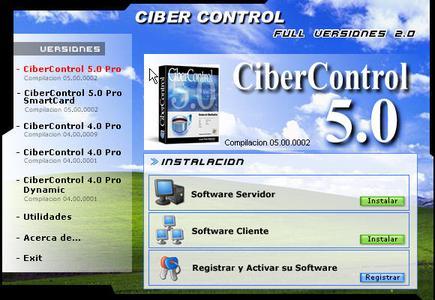 Pack Cibercontrol 4 y 5 Pro Full Admon Cybercafes Spanish Espanol