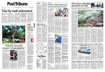 Post-Tribune – August 15, 2020