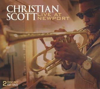 Christian Scott - Live At Newport (2008) {CD+DVD Concord Jazz CJA-30853-00}