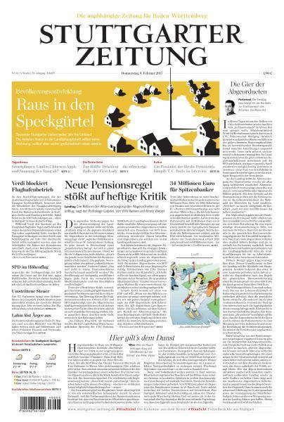 Stuttgarter Zeitung - 9 Februar 2017