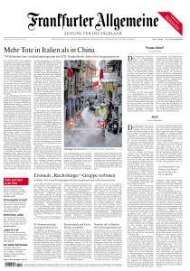 Frankfurter Allgemeine Zeitung - 20 März 2020