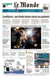 Le Monde du Vendredi 5 Avril 2019