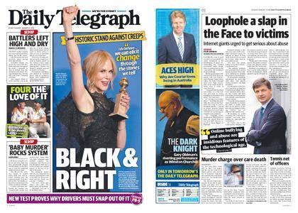 The Daily Telegraph (Sydney) – January 09, 2018