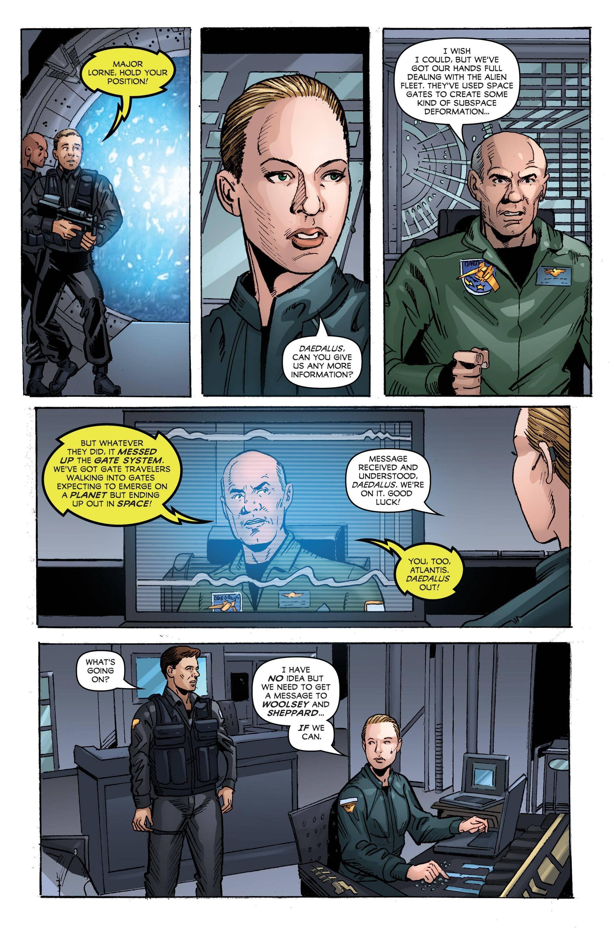 Stargate Atlantis Singularity 002 2018 Digital Kileko