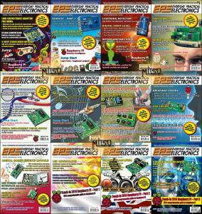 Everyday Practical Electronics (EPE) - Full Year 2013 Issues Collection