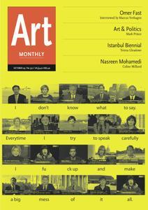 Art Monthly - October 2009   No 330