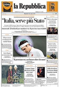la Repubblica - 24 Dicembre 2019