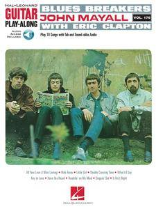 Blues Breakers with John Mayall & Eric Clapton: Guitar Play-Along Vol. 176