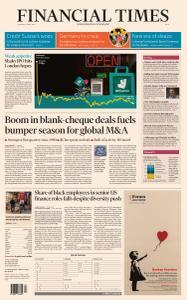Financial Times Asia - April 1, 2021