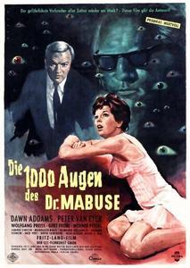 The 1,000 Eyes of Dr. Mabuse (1960) Die 1000 Augen des Dr. Mabuse