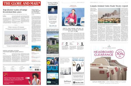 The Globe and Mail – September 23, 2020