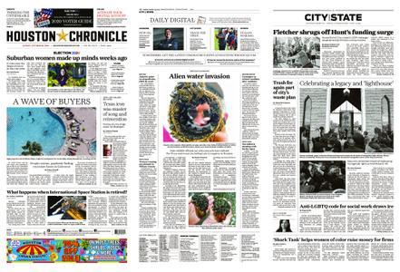 Houston Chronicle – October 25, 2020