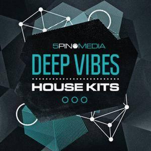 5Pin Media Deep Vibes House Kits WAV MiDi